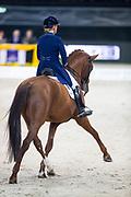 Madeleine Witte Vrees - Cennin<br /> Stuttgart German Masters 2018<br /> © DigiShots