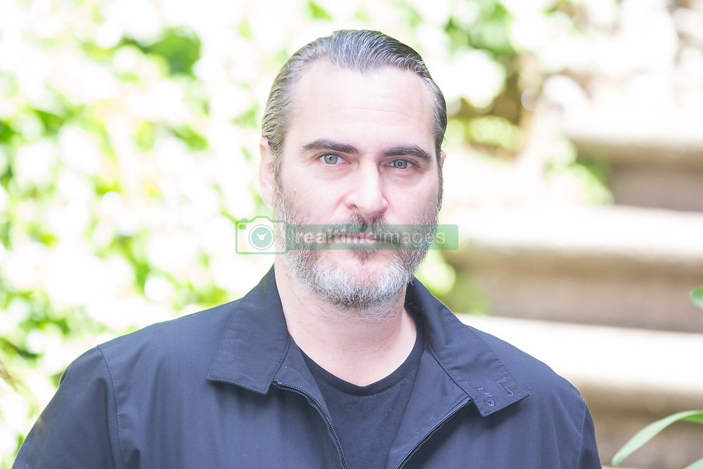 April 27, 2018 - Rome, Italy - American actor Joaquin Phoenix..Photocall in Rome to present the film ''A Beautiful Day' (Credit Image: © Matteo Nardone/Pacific Press via ZUMA Wire)