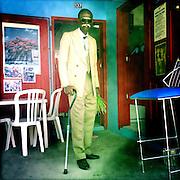 Grand Case, Saint-Martin Island. French Caribbean..April 1st 2012.