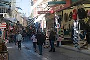 The Flea Market at Monastiraki Square, Athens, Greece