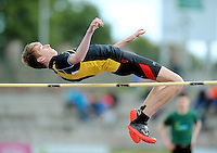 21 Aug 2016:  Rory MacGabhann, Kilkenny.  Boys U16 High Jump final.  2016 Community Games National Festival 2016.  Athlone Institute of Technology, Athlone, Co. Westmeath. Picture: Caroline Quinn
