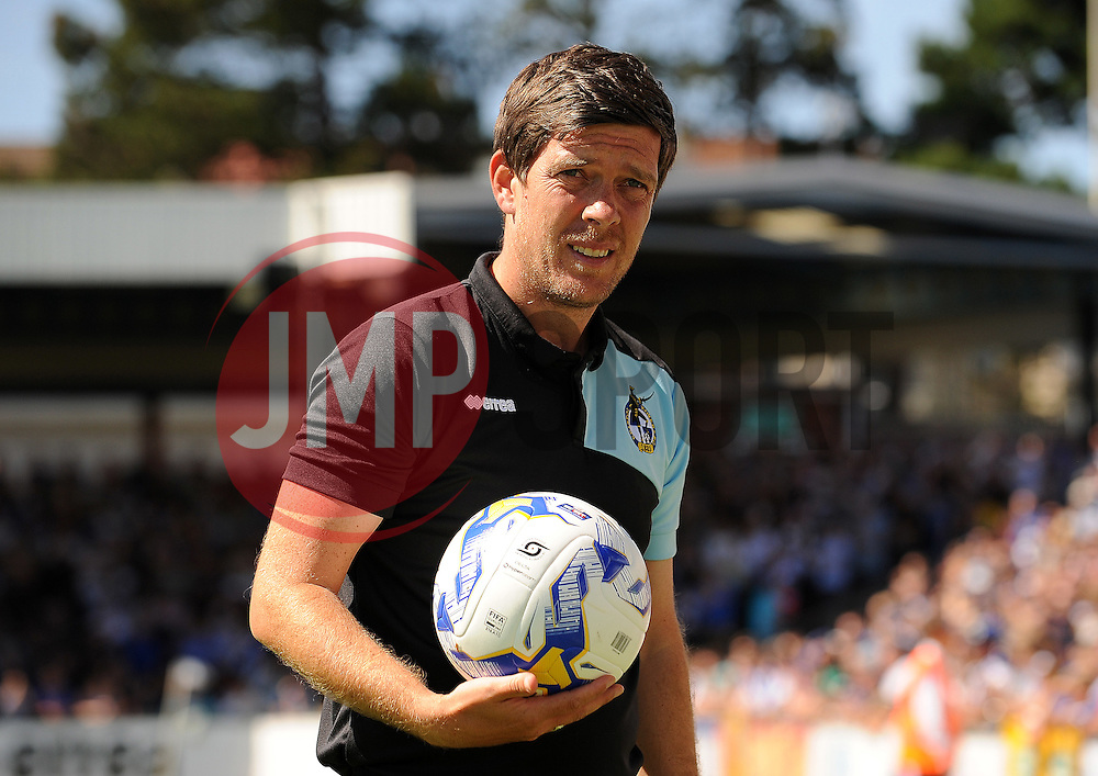 Bristol Rovers Manager Darrell Clarke - Mandatory byline: Neil Brookman/JMP - 07966386802 - 08/08/2015 - FOOTBALL - Memorial Stadium -Bristol,England - Bristol Rovers v Northampton Town - Sky Bet League Two
