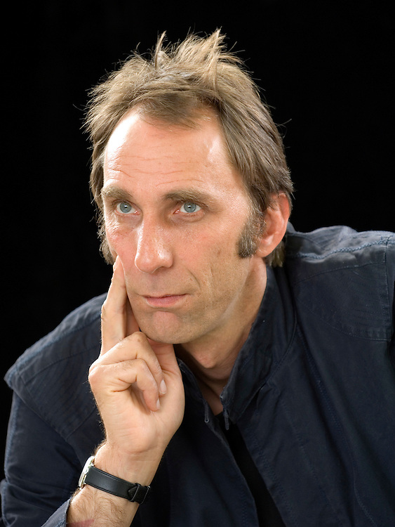 EDINBURGH, SCOTLAND - AUGUST12. Author Will Self poses during a portrait session held at Edinburgh Book Festival on August 12, 2006  in Edinburgh, Scotland. (Photo by Marco Secchi/Getty Images)