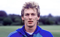 Alan McDonald, Queen's Park Rangers, footballer, possible N Ireland cap, 19840088AMD1.<br /> <br /> Copyright Image from Victor Patterson,<br /> 54 Dorchester Park, Belfast, UK, BT9 6RJ<br /> <br /> t1: +44 28 90661296<br /> t2: +44 28 90022446<br /> m: +44 7802 353836<br /> <br /> e1: victorpatterson@me.com<br /> e2: victorpatterson@gmail.com<br /> <br /> For my Terms and Conditions of Use go to<br /> www.victorpatterson.com