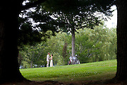 The wedding of Sarah Eustis and Andrew Meeks at Colby College in Waterville, Maine