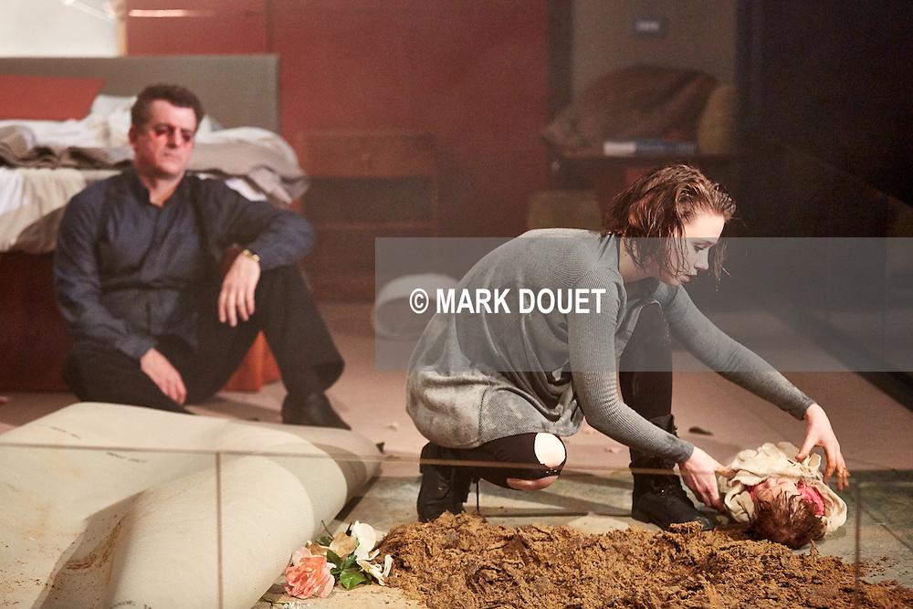 Blasted by Sarah Kane at Sheffield Theatres.        <br /> Director Richard Wilson