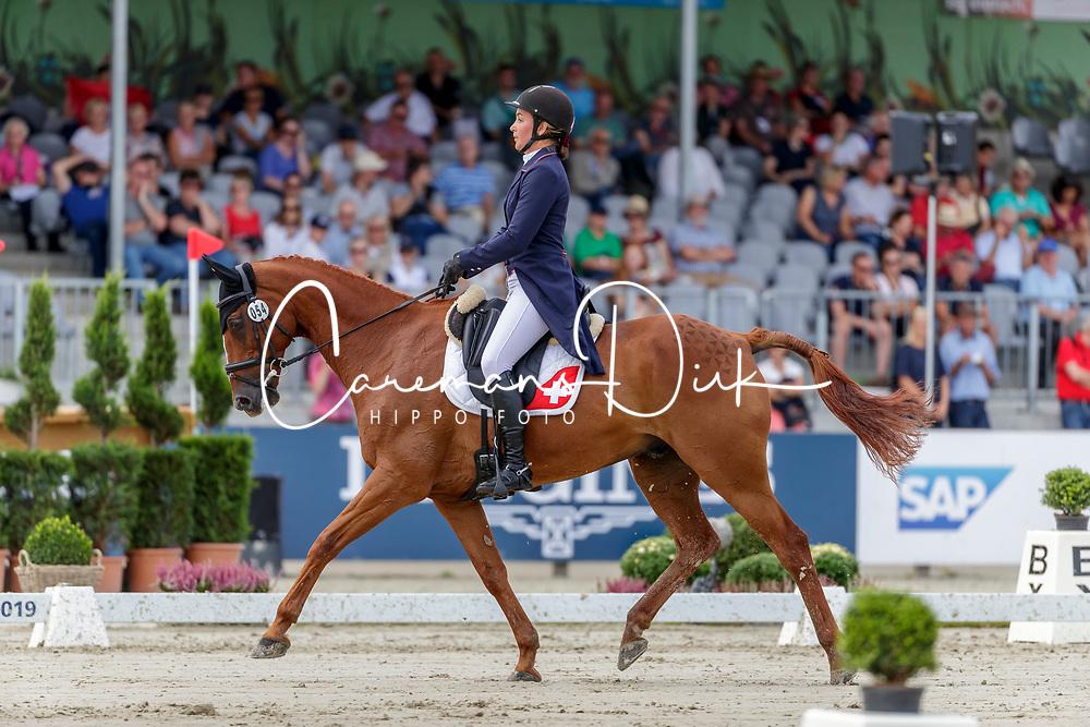 Gonfard Roxane, SUI, Opi de Saint Leo<br /> European Championship Eventing<br /> Luhmuhlen 2019<br /> © Hippo Foto - Stefan Lafrentz