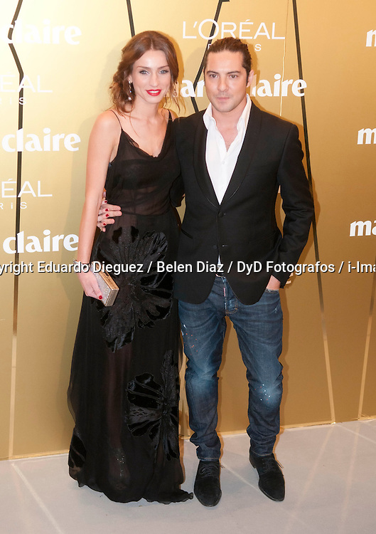 Raquel Jimenez and her boyfriend.   the spanish singer David Bisba, during the Marie Claire Fashion Prix, French Embassy, Madrid, Spain. November 22, 2012. Photo by Eduardo Dieguez / Belen Diaz / DyD Fotografos / i-Images. ..SPAIN OUT