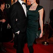 NLD/Amsterdam/20120115 - Premiere Suskind, Anna Drijver en partner Benja Bruijning