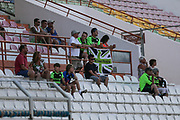 FGR supporters in the crowd during the Pre-Season Friendly match between SC Farense and Forest Green Rovers at Estadio Municipal de Albufeira, Albufeira, Portugal on 25 July 2017. Photo by Shane Healey.