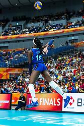19-10-2018 JPN: Semi Final World Championship Volleyball Women day 18, Yokohama<br /> China - Netherlands / Paola Ogechi Egonu #18 of Italy