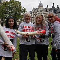 London Global March for Elephants & Rhinos, London, UK