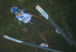STRATE Abigail (CAN) during First round on Day 1 of FIS Ski Jumping World Cup Ladies Ljubno 2020, on February 22th, 2020 in Ljubno ob Savinji, Ljubno ob Savinji, Slovenia. Photo by Matic Ritonja / Sportida