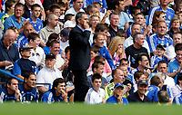 Photo: Richard Lane/Sportsbeat Images. <br />Chelsea v Birmingham. Barclay's Premiership. 12/08/2007. <br />Chelsea's manager, Jose Mourinho.