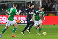 Javier PASTORE - 25.01.2015 - Saint Etienne / PSG - 22eme journee de Ligue1<br /> Photo : Jean Paul Thomas / Icon Sport