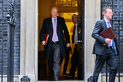 © Licensed to London News Pictures. 15/11/2016. London, UK. Transport Secretary CHRIS GRAYLING attends a cabinet meeting in Downing Street on Tuesday, 15 November 2016. Photo credit: Tolga Akmen/LNP
