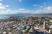 Aerial, Ala Moana Center, Honolulu, Oahu, Hawaii