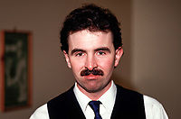 Paul Watchorn, Dublin, Rep of Ireland, snooker player, professional, 19870511PW..Copyright Image from Victor Patterson, 54 Dorchester Park, Belfast, UK, BT9 6RJ..Tel: +44 28 9066 1296.Mob: +44 7802 353836.Voicemail +44 20 8816 7153.Skype: victorpattersonbelfast.Email: victorpatterson@me.com.Email: victorpatterson@ireland.com (back-up)..IMPORTANT: If you wish to use this image or any other of my images please go to www.victorpatterson.com and click on the Terms & Conditions. Then contact me by email or phone with the reference number(s) of the image(s) concerned.