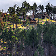 Cabins on Mt. Lemmon