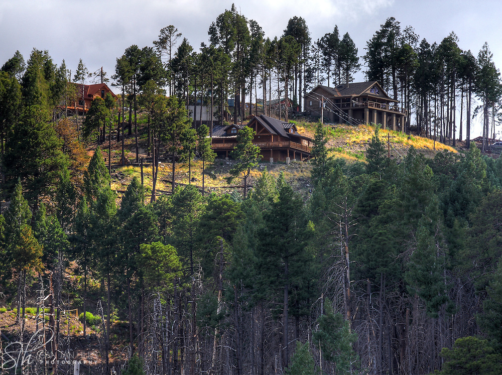 Cabins on Mt. Lemmon