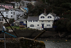 UK ENGLAND FOWEY 19FEB15 - General view of Ferryside Cottage in Fowey, Cornwall, England, where famous English novelist Daphne Du Maurier lived.. Fowey, a small fishing and harbour village was the living place of famous English writer Daphne Du Maurier and many of her novels are based here.<br /> <br /> jre/Photo by Jiri Rezac<br /> <br /> © Jiri Rezac 2015