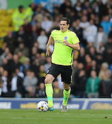 Brighton central defender, Lewis Dunk (5) during the Sky Bet Championship match between Leeds United and Brighton and Hove Albion at Elland Road, Leeds, England on 17 October 2015.