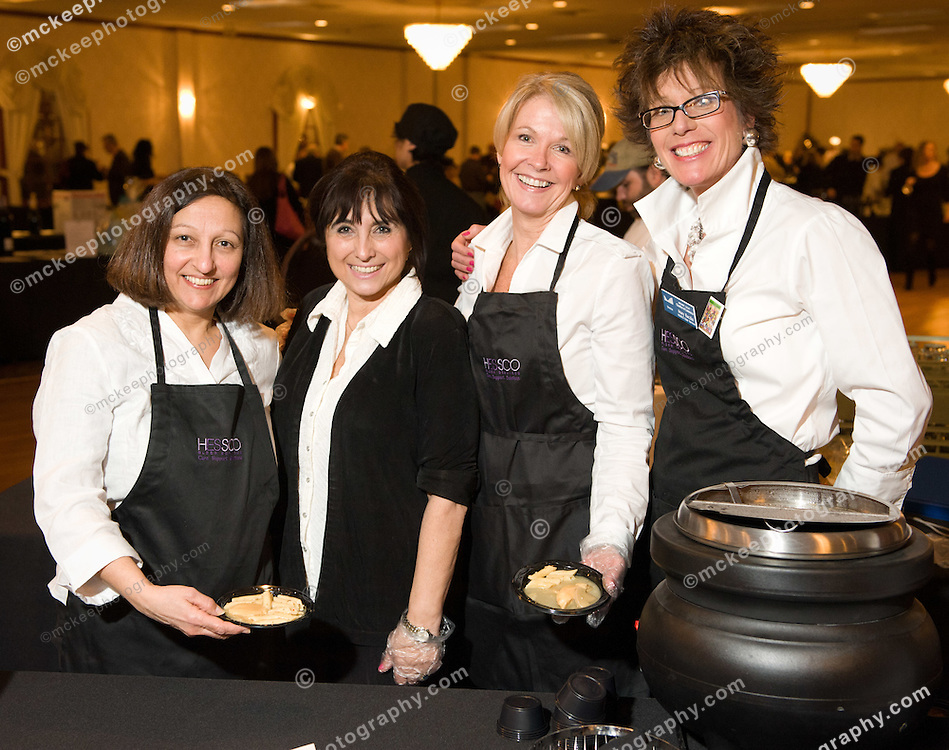 Mary Raczka and crew from Meals on Wheels, serving it up at Flavors of Neponset Valley 2011