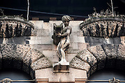 Milano, Lombardia, Italia. Stile liberty. Liberty style. Casa berri- Meragalli, arch. G. Arata, via Capuccini 8