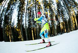 TRSAN Rok (SLO) competes during Men 10 km Sprint at day 2 of IBU Biathlon World Cup 2014/2015 Pokljuka, on December 19, 2014 in Rudno polje, Pokljuka, Slovenia. Photo by Vid Ponikvar / Sportida