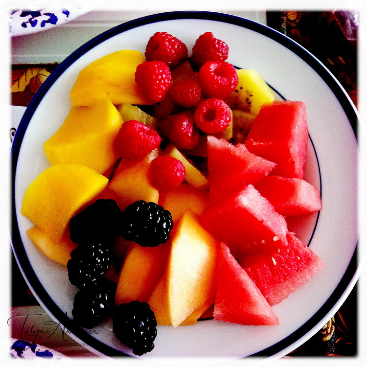 Fruit plate - Fort Lee, New Jersey