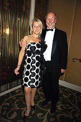 CHRIS & JANICE WRIGHT at the annual Cartier Racing Awards held at the Grosvenor House Hotel, Park Lane, London on 17th November 2008.