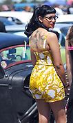 Women wearing 50's Rock 'n' Roll styles, Viva Las Vegas, USA 2006