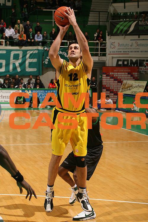 DESCRIZIONE : Siena Eurolega 2007-08 Montepaschi Siena Prokom Trefl Sopot<br /> GIOCATORE : Jovo Stanojevic<br /> SQUADRA : Prokom Trefl Sopot<br /> EVENTO : Eurolega 2007-2008 <br /> GARA : Montepaschi Siena Prokom Trefl Sopot<br /> DATA : 23/01/2008 <br /> CATEGORIA : Tiro<br /> SPORT : Pallacanestro <br /> AUTORE : Agenzia Ciamillo-Castoria/M.Marchi<br /> Galleria : Eurolega 2007-2008 <br /> Fotonotizia : Siena Eurolega 2007-2008 Montepaschi Siena Prokom Trefl Sopot<br /> Predefinita :
