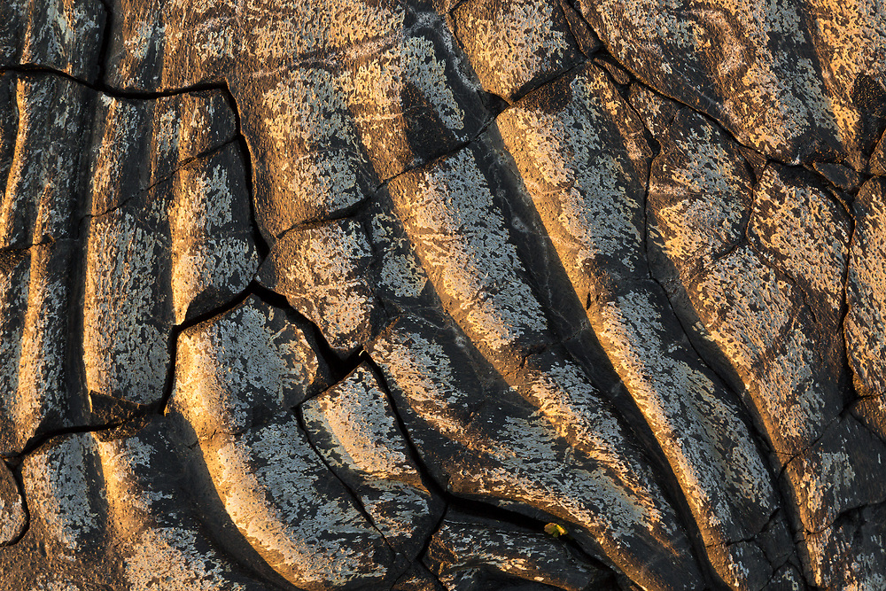 Lava flow, Volcanos National Park, Hawaii Lava flow pattern, Volcanos National Park, Hawaii
