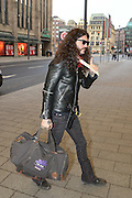 EXCLUSIVE<br /> Ozzy Osbourne,Tommy Lommi,Geezer Butler from Black Sabbath at Dusseldorf Airport Germany<br /> ©HansPaul/Exclusivepix Media