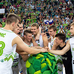 20140823: SLO, Basketball - Telemach Tournament, Slovenia vs Lithuania