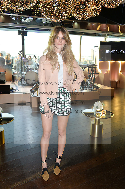 WHINNIE WILLIAMS at the launch of the Illicit by Jimmy Choo - a new fragrance faced by Sky Ferreira, held at Mondrian London, 20 Upper Ground, London on 3rd June 2015.