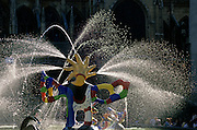 Place Igot Stravinsky, Fountain of Niki de Saint-Phalle and JeanTinguely, Paris, France