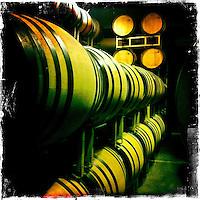 Napa Adventures Spring 2012 at PlumpJack Winery in Napa, CA.  Barrel wine tasting. iPhone Hipsta