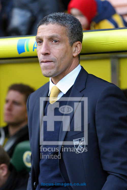 Picture by Paul Chesterton/Focus Images Ltd +44 7904 640267.26/01/2013.Norwich Manager Chris Hughton during The FA Cup 4th Round match at Carrow Road, Norwich.