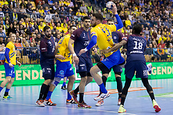 Borut Mackovsek of RK Celje Pivovarna Lasko during handball match between RK Celje Pivovarna Lasko (SLO) and Paris Saint-Germain Handball (FRA) in VELUX EHF Champions League, on February 11, 2018 in Dvorana Zlatorog, Celje, Slovenia. Photo by Urban Urbanc / Sportida