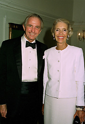 MR & MRS GEOFFREY KENT, he is the leading Travel Agent, at a ball in London on 23rd June 1997.LZO 16