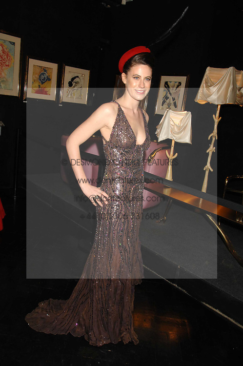 FRANCESCA VERSACE at Andy & Patti Wong's Chinese new Year party held at County Hall and Dali Universe, London on 26th January 2008.<br /> <br /> NON EXCLUSIVE - WORLD RIGHTS (EMBARGOED FOR PUBLICATION IN UK MAGAZINES UNTIL 1 MONTH AFTER CREATE DATE AND TIME) www.donfeatures.com  +44 (0) 7092 235465