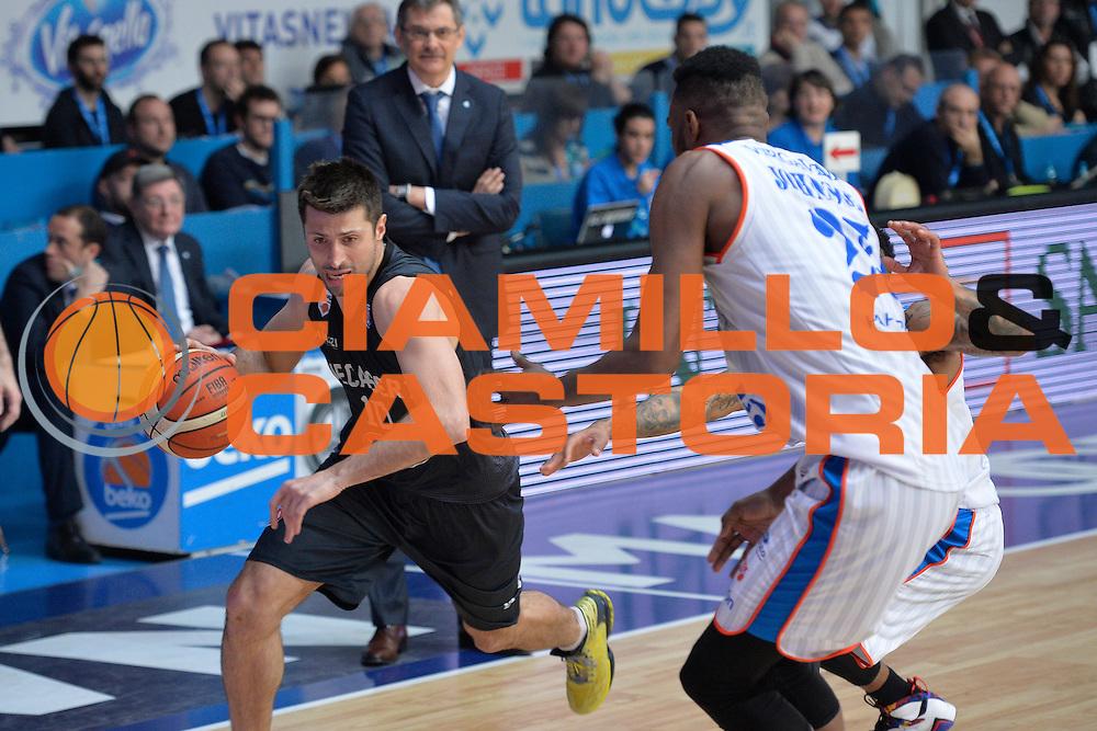 DESCRIZIONE : Beko Legabasket Serie A 2015- 2016 Acqua Vitasnella Cantu' Pasta Reggia Juve Caserta<br /> GIOCATORE : Daniele Cinciarini<br /> CATEGORIA : Penetrazione sequenza<br /> SQUADRA : Pasta Reggia Juve Caserta<br /> EVENTO : Beko Legabasket Serie A 2015-2016 <br /> GARA : Acqua Vitasnella Cantu' Pasta Reggia Juve <br /> DATA : 13/03/2016 <br /> SPORT : Pallacanestro <br /> AUTORE : Agenzia Ciamillo-Castoria/I.Mancini