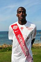 Kevin Koubemba - 09.09.2015- Photo Officielle de Brest - Ligue 2<br /> Photo : Philippe Le Brech / Icon Sport