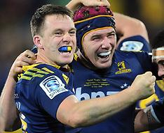 Wellington-Super Rugby, final, Hurricanes v Highlanders