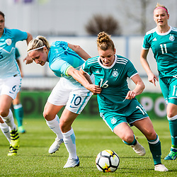 20180410: SLO, Football - 2019 FIFA Women's World Cup qualification, Slovenia vs Germany