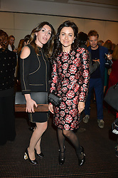 Left to right, SOFIA SHALELASHVILI and EVA LANSKA at the UK Premiere of The Uncondemned hosted by Women for Women International at BAFTA, 195 Piccadilly, London on 2nd November 2016.