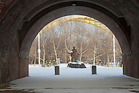 Statue of Cincinnatus within Sawyer Point in Downtown Cincinnati