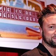 NLD/Hilversum/20110104 - Persviewing RTL5 programma Wie is de Reisleider, Dennis Weening